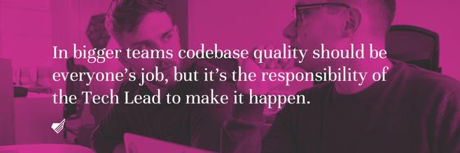 TechLead codebase quality